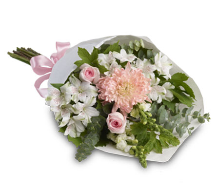 Pure Elegance. Description: This simple yet elegant bouquet is perfect for any occasion.