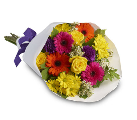 Relax. Description: This bouquet is a simple yet stunning gift.