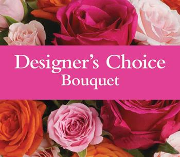 Designers Bouquet. Description: Available in pastel, bright, seasonal or a single colour theme.