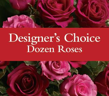 Florists Dozen Roses. Description: We are good at this, let us choose the design. Available in specific or mixed colours including red, pink,hot pink, yellow, cream and white.